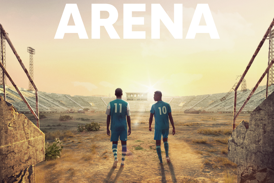 Men in the Arena Poster